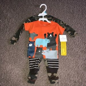 Carter's 6 Months Pajama Set, New With Tags